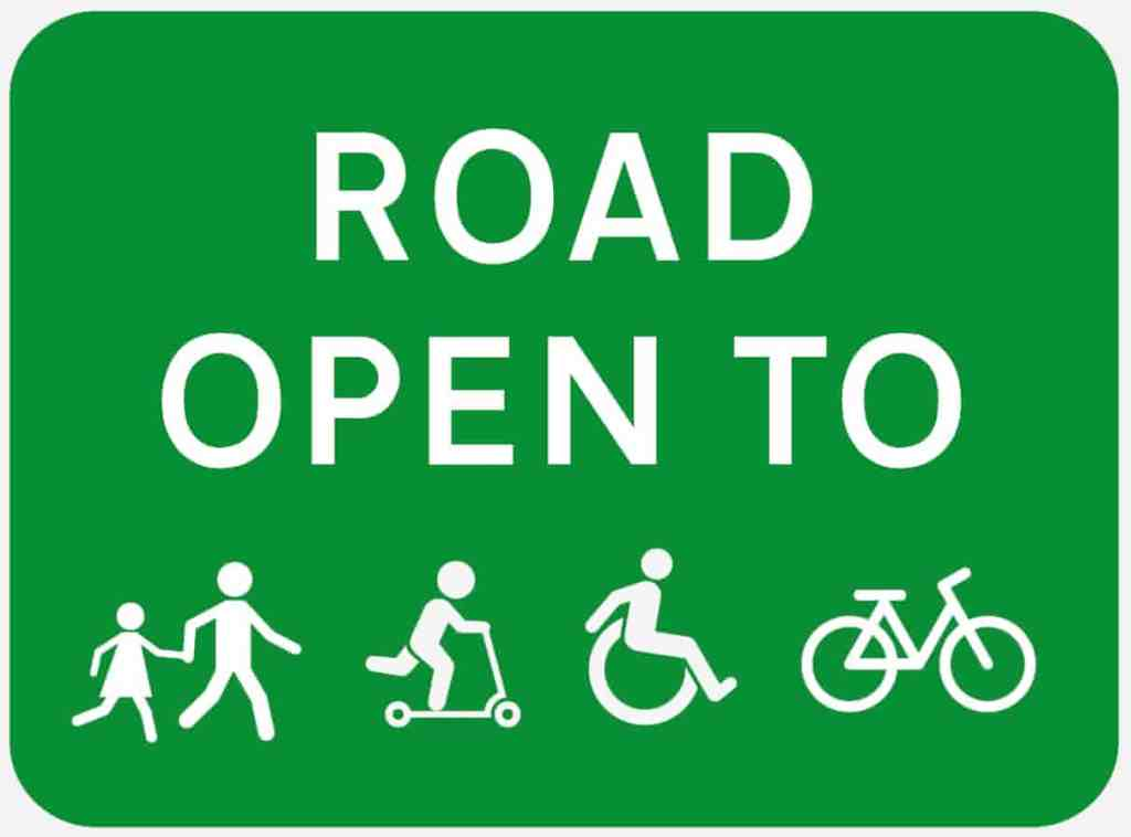 Open for Active Travel